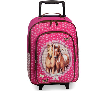 Animal Pictures Trolley Paarden 43 cm