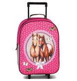 Animal Pictures Trolley Pferde - 40 x 28 x 10 cm - Pink