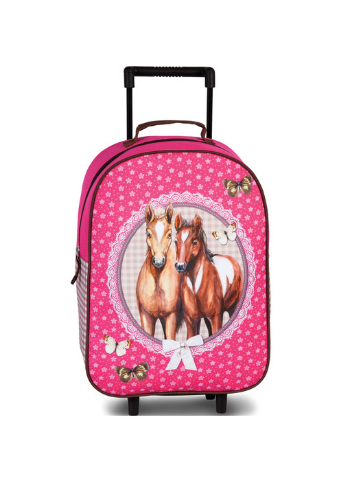 Animal Pictures Trolley Paarden 40 cm