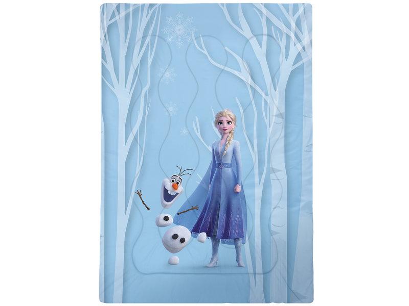 Disney Frozen Herbstlich, Tagesdecke - Single - 140 x 200 cm - Blau