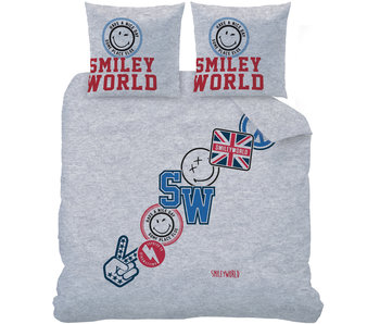 Smiley World Spirit Dekbedovertrek 200 x 200 cm