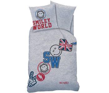 Smiley World Spirit Duvet cover 140 x 200 cm