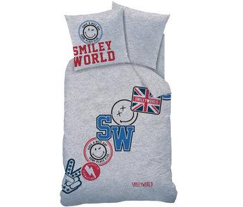 Smiley World Spirit Housse de couette 140 x 200 cm