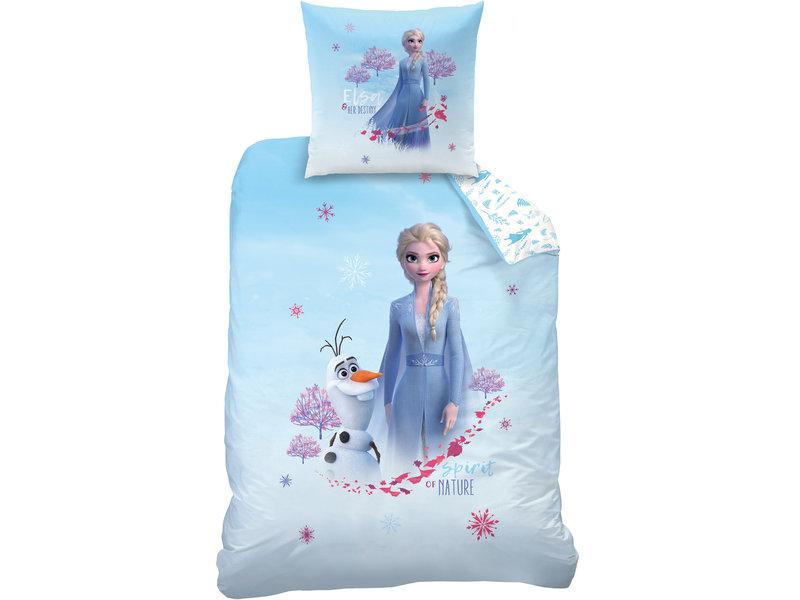 Disney Frozen Destiny Duvet cover - Single - 140 x 200 cm - Blue