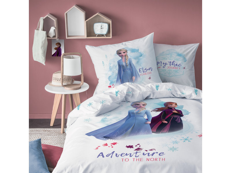 Disney Frozen Autumnal Duvet cover - Single - 140 x 200 cm - Blue