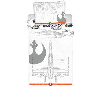 Star Wars Housse de couette 9 140x200 cm
