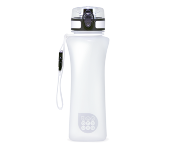 Ars Una Bouteille d'eau de luxe blanc mat 500 ml