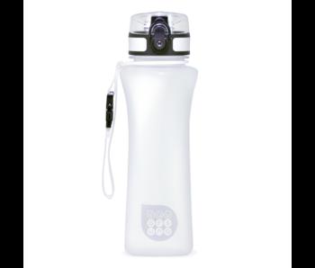 Ars Una Luxus Wasserflasche weiß matt 500 ml