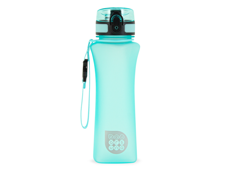 Ars Una - luxury drinking bottle - 500 ml - matt turquoise