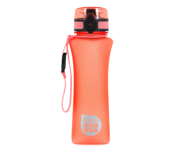 Ars Una Luxuswasserflasche matt orange 500 ml