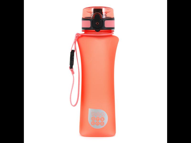 Ars Una - luxe drinkfles - 500 ml - mat oranje