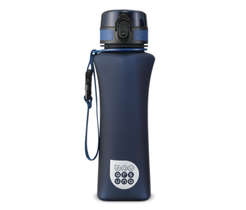 Ars Una Luxury water bottle matt navy blue 500 ml
