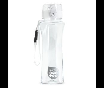 Ars Una Bouteille d'eau blanche de luxe 500 ml