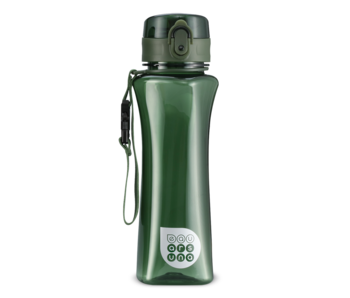 Ars Una Luxuswasserflasche grün 500 ml