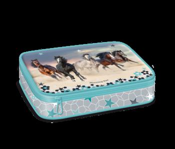 Morning Star Etui fabelhafte Pferde 22,5 cm