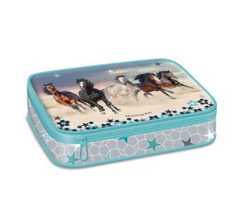 Morning Star Etui fabuleux chevaux 22,5 cm