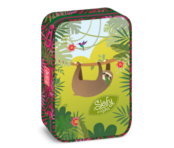 Luiaard Pochette jungle 22,5 cm