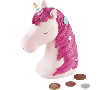 Floss & Rock 3D Spaarpot Unicorn 15 cm