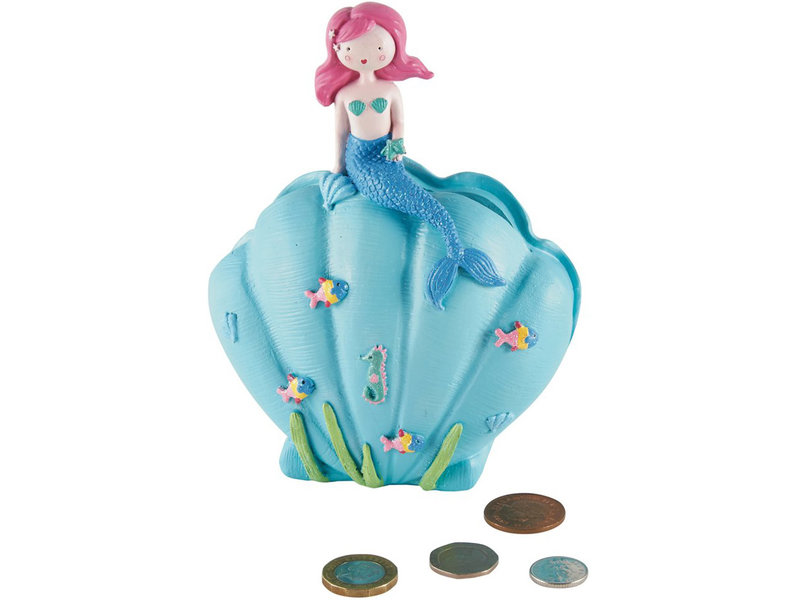 Floss & Rock Mermaid - 3D money box - 15.5 x 9.5 cm - multi