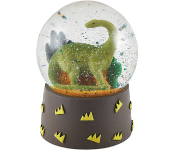 Floss & Rock Snow globe Dino small