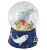 Floss & Rock Ocean - Snow Globe Music - Grand - 14 x 11 cm - Multi