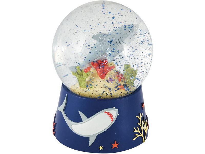 Floss & Rock Ocean - Snow Globe Music - Large - 14 x 11 cm - Multi