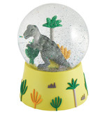 Floss & Rock Dino - Snow Globe Music - Grand - 14 x 11 cm - Multi