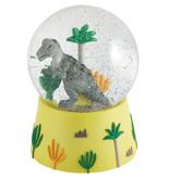 Floss & Rock Dino - Snow Globe Music - Large - 14 x 11 cm - Multi