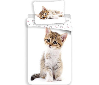 Animal Pictures Housse de couette Chaton 140 x 200