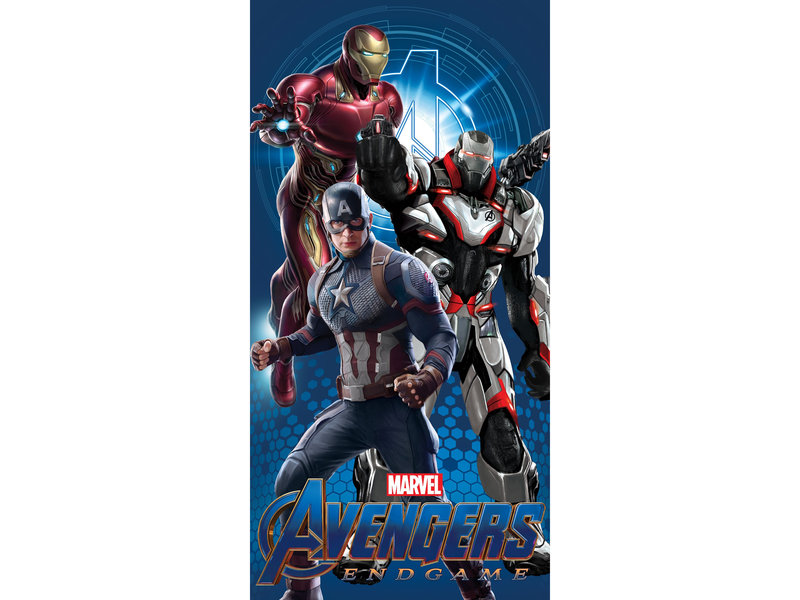 Marvel Avengers Endgame Beach Towel - 70 x 140 cm - Multi