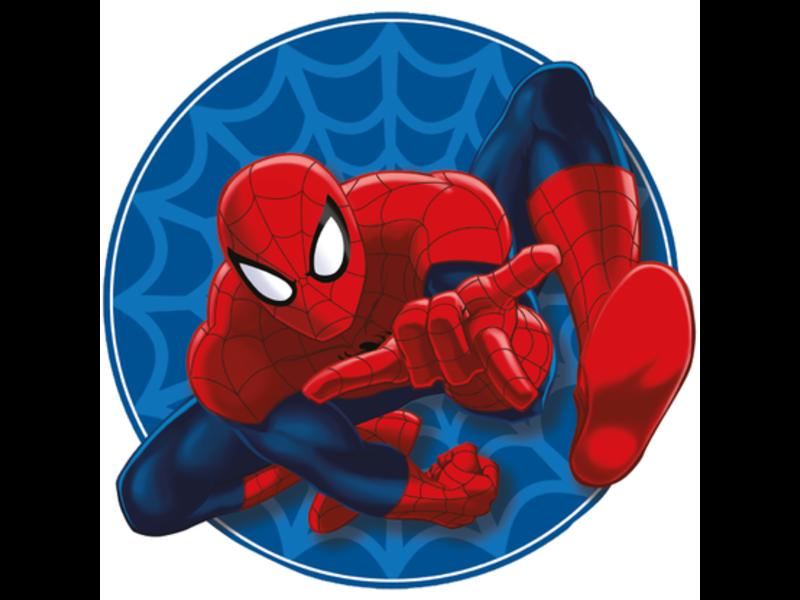 SpiderMan Coussin - 32 x 29 x 5 cm - Bleu