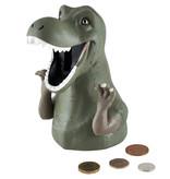 Floss & Rock Dino - 3D spaarpot - 15.5 x 10 cm - roze