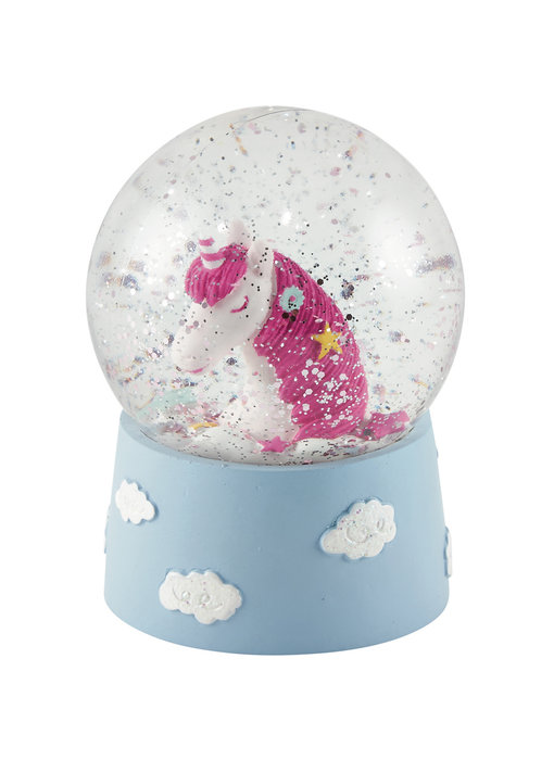 Floss & Rock Snow globe Unicorn small