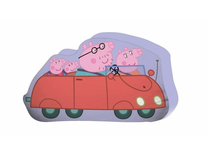 Peppa Pig Coussin - 30 x 25 cm - Violet