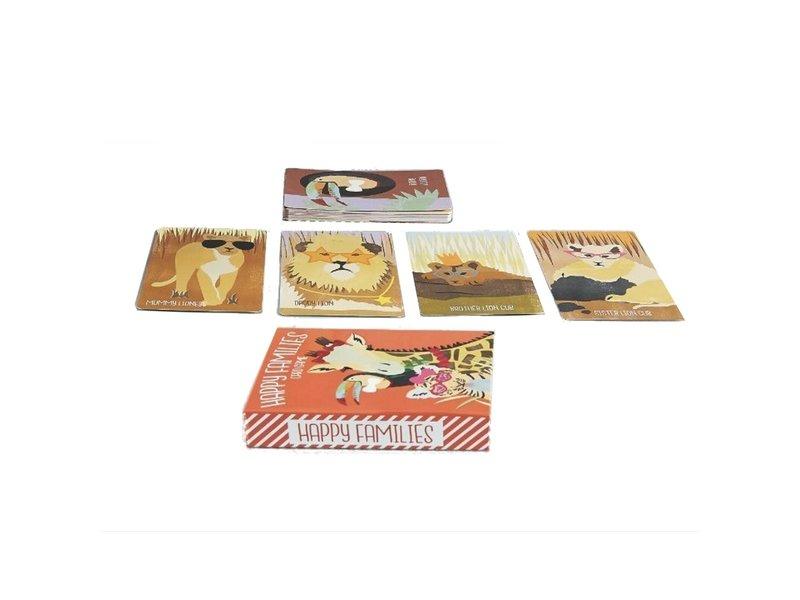 Floss & Rock Kaartspel Happy Families - 11 x 16 cm - 2-4 spelers
