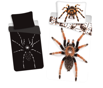 Animal Pictures Glow in the Dark Duvet cover Spider 140x200 cm