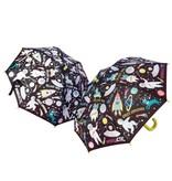 Floss & Rock Space - Umbrella - Ändert die Farbe!