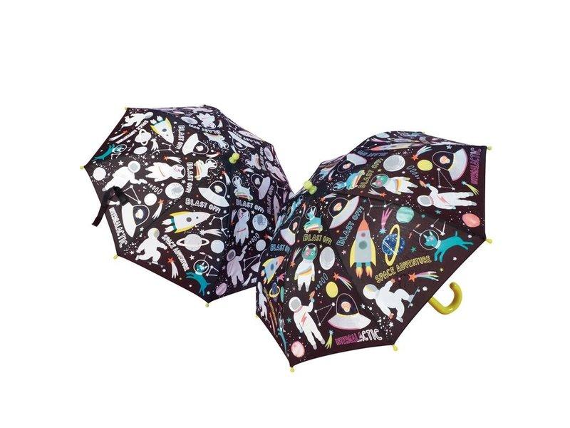 Floss & Rock Space - Paraplu - Verandert van kleur!