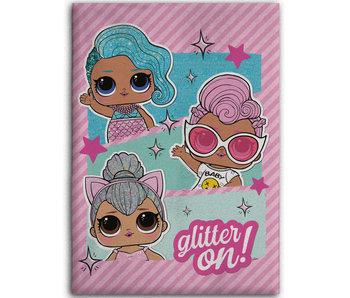 LOL Surprise! Couverture polaire Glitter On 100 x 140 cm
