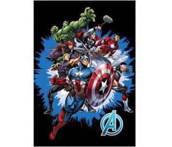 Marvel Avengers Couverture polaire Assemble 100 x 140 cm