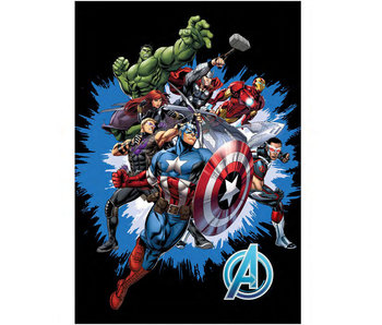 Marvel Avengers Fleeceplaid Assemble 100 x 140 cm