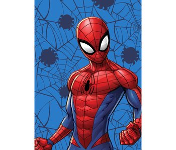 SpiderMan Fleeceplaid Web 100 x 140 cm