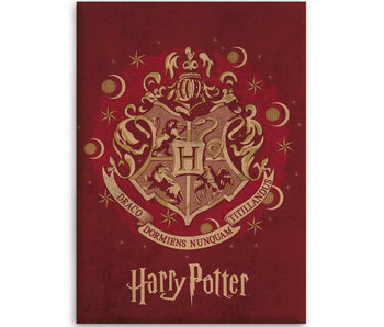 Harry Potter Fleece blanket Hogwarts 100 x 140 cm
