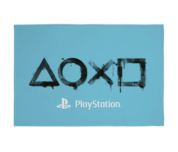 Playstation Fleeceplaid Buttons 100 x 150 cm
