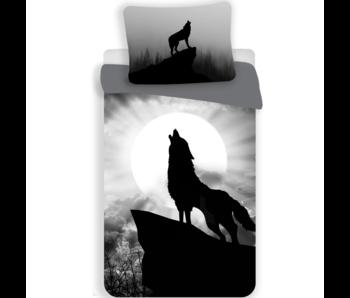 Animal Pictures Dekbedovertrek Wolf 140 x 200 cm