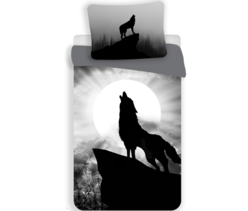 Animal Pictures Duvet cover Wolf 140 x 200 cm