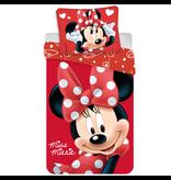 Disney Minnie Mouse Big Red Bettbezug - Einzel - 140 x 200 cm - Rot