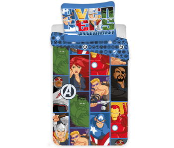 Marvel Avengers Bettbezug Cartoon 140 x 200 cm