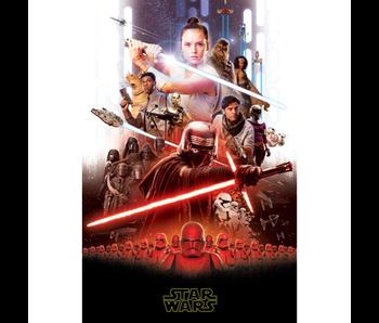 Star Wars 9 couverture polaire 100 x 150 cm