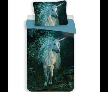 Unicorn Dekbedovertrek Forest 140 x 200 cm